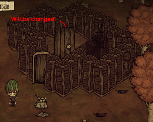 how to make a roof dont starve together