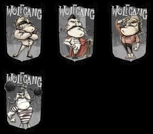 Dont Starve Wolfgang Skin Concept Art