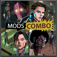 Mod] Agent Mods Combo by Shirsh - [Invisible, Inc ] Modding Forum