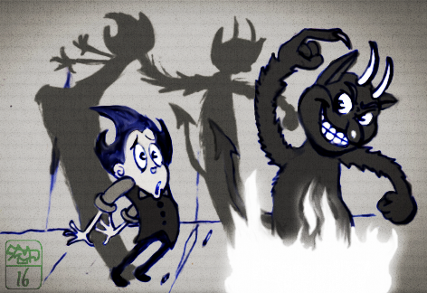 20160615-Wilson encounters the cuphead devil.png