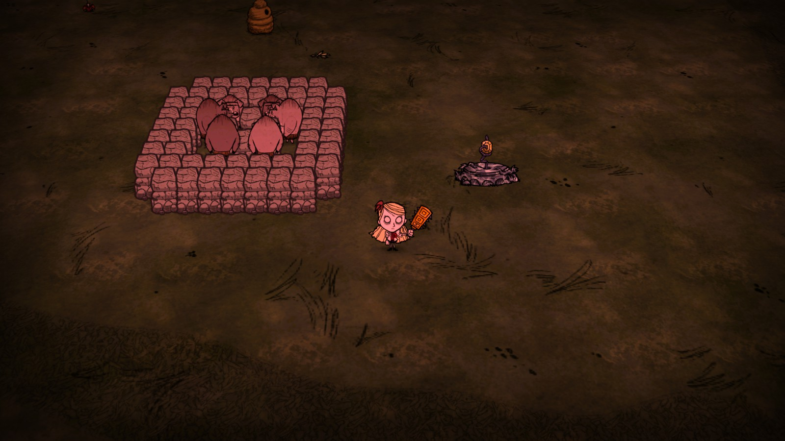 dont starve together how to get rid of fence