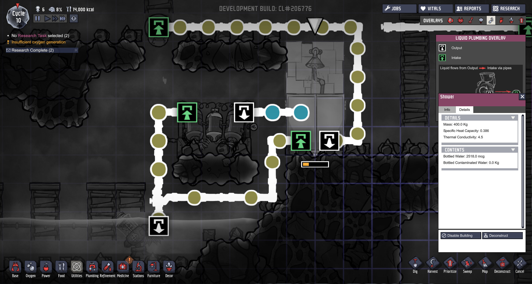 oxygen not included how to set up exosuit