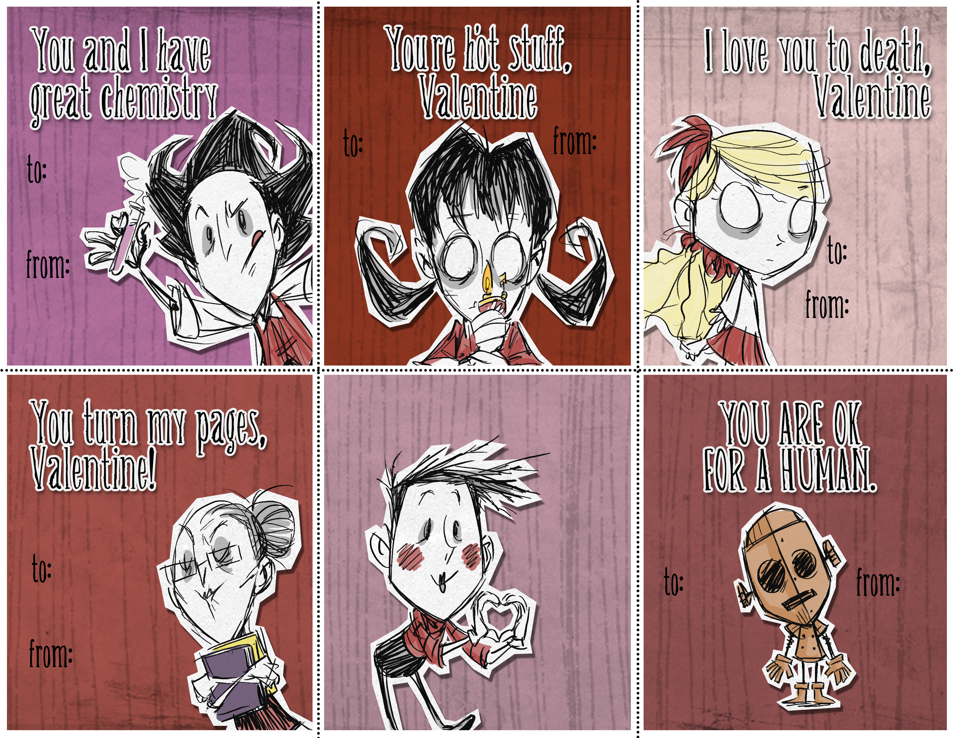I Heard You Like Valentine S Day Cards Don T Starve Together