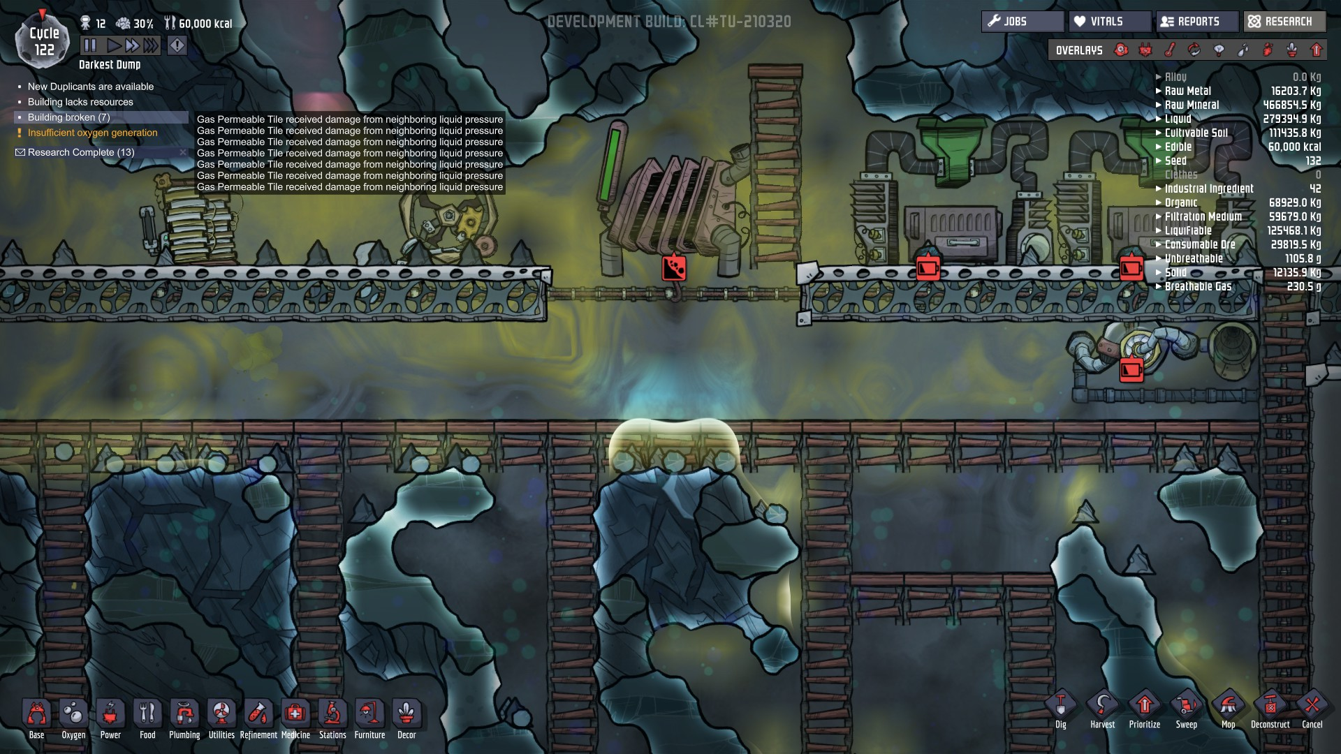 CRAZY GEYSERS! TOO MUCH WATER! - [Oxygen Not Included] - General