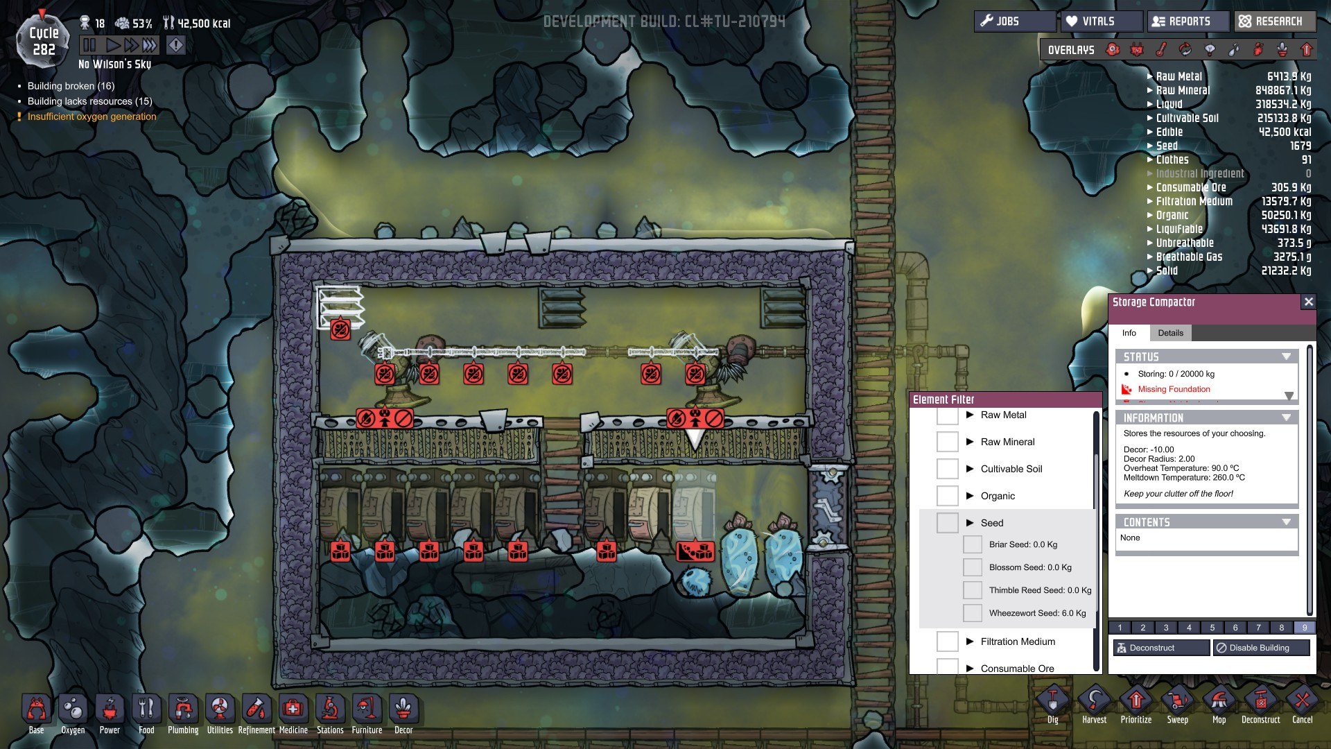 Oxygen Not Included Seeds