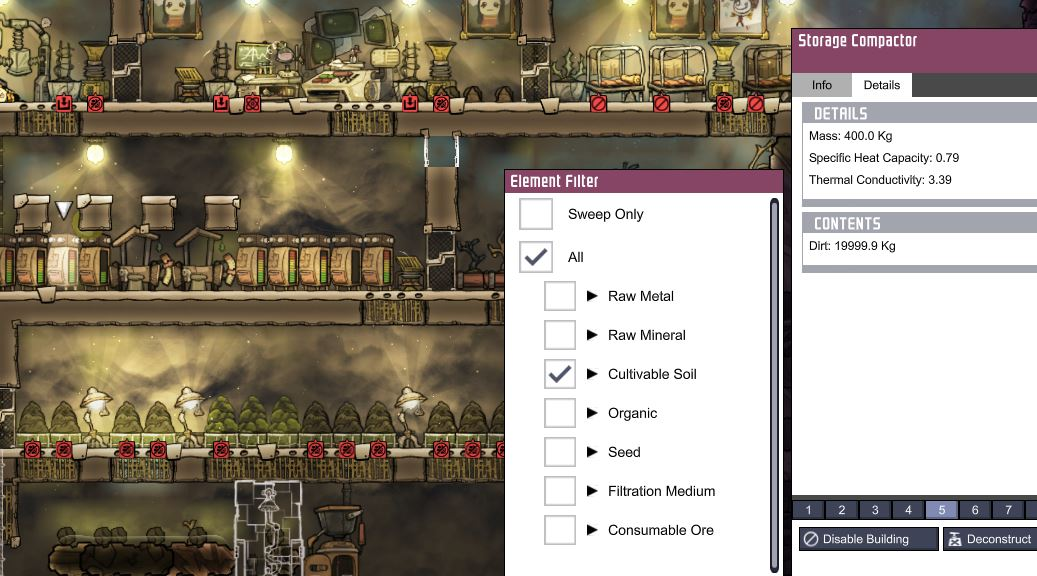 Oxygen Not Included Not Making Food