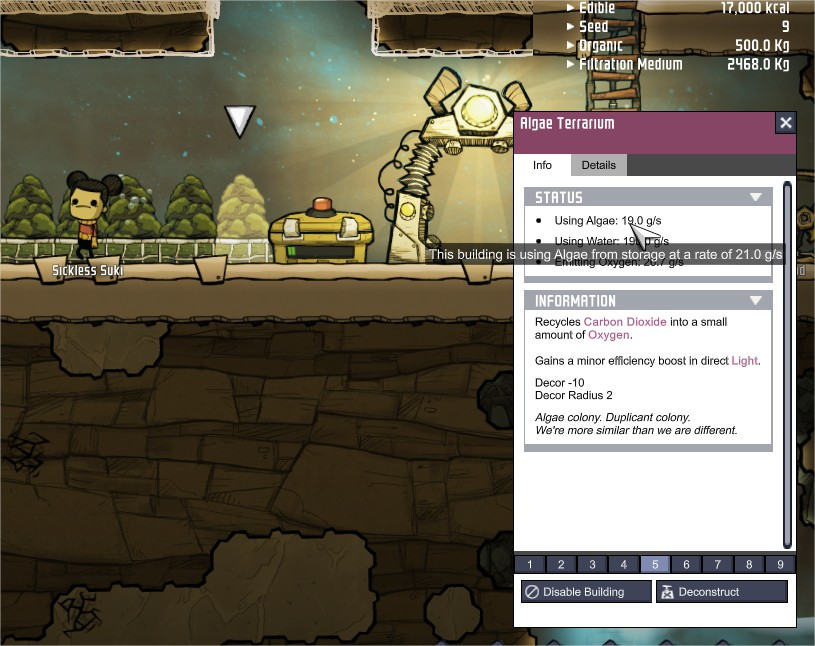 Known Issues - Oxygen Not Included - [Early Access] - Klei