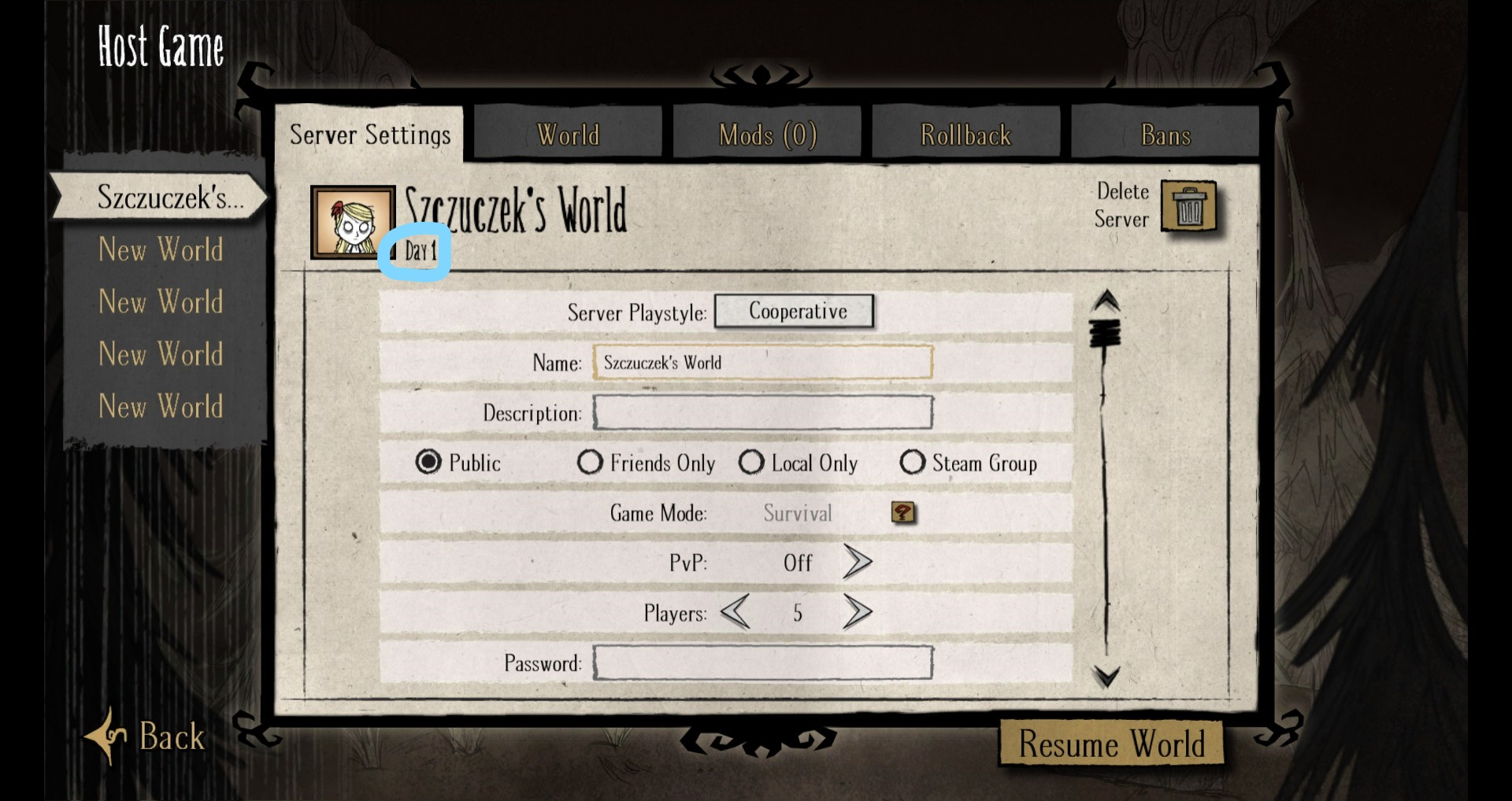 Don't starve dedicated server failed to start c