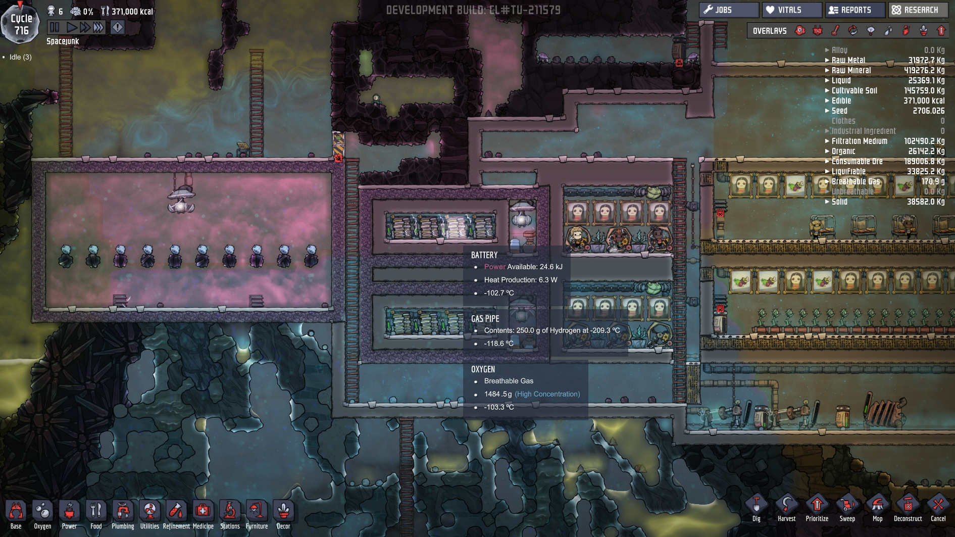 Cooling solved  - [Oxygen Not Included] - General Discussion - Klei
