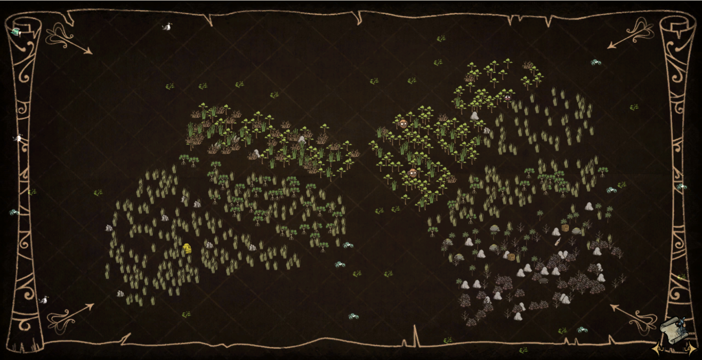 on don t starve map