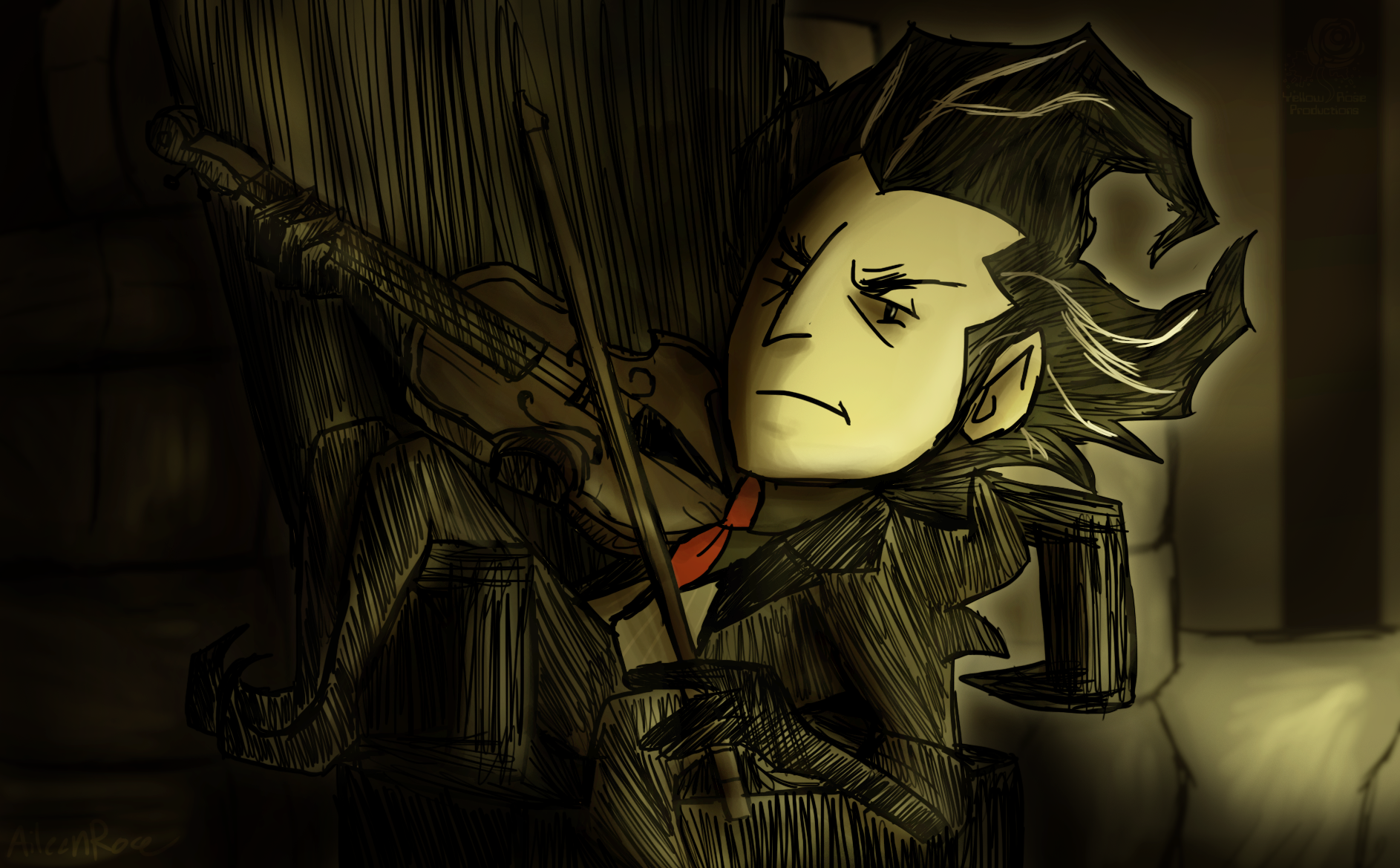 don t starve art