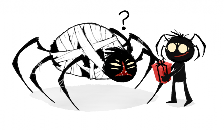 Webber and spider queen.png