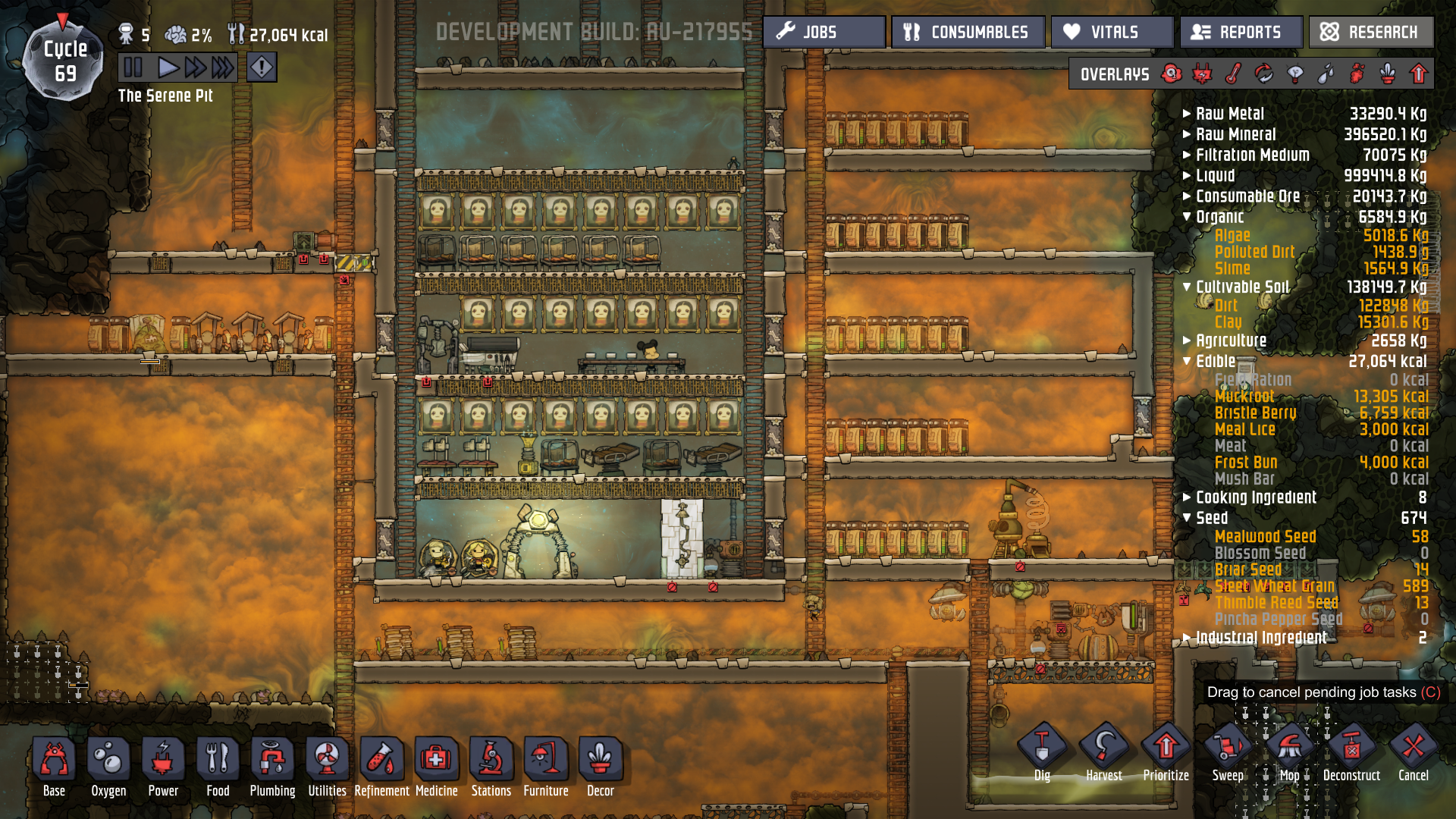 Too much natural gas [Oxygen Not Included] Suggestions and