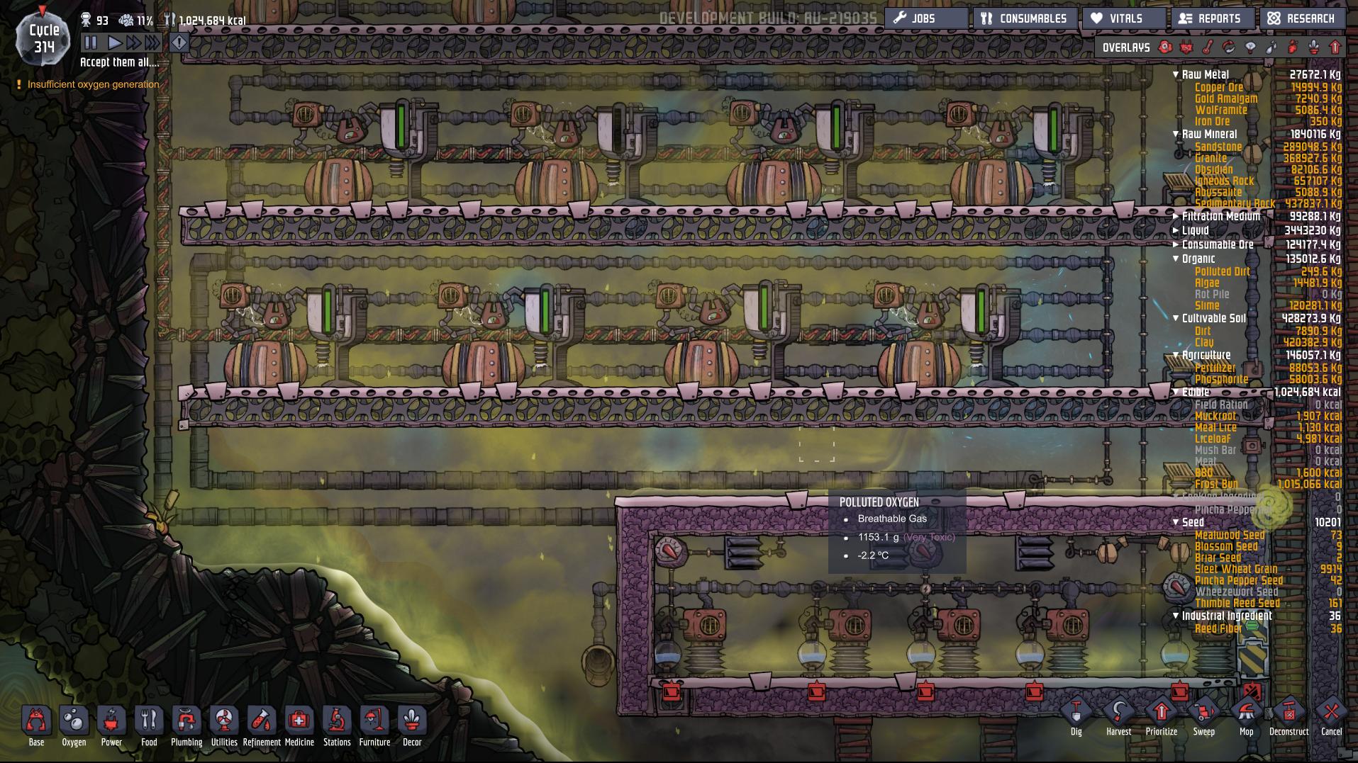 Natural Gas Generator broken [Oxygen Not Included] General