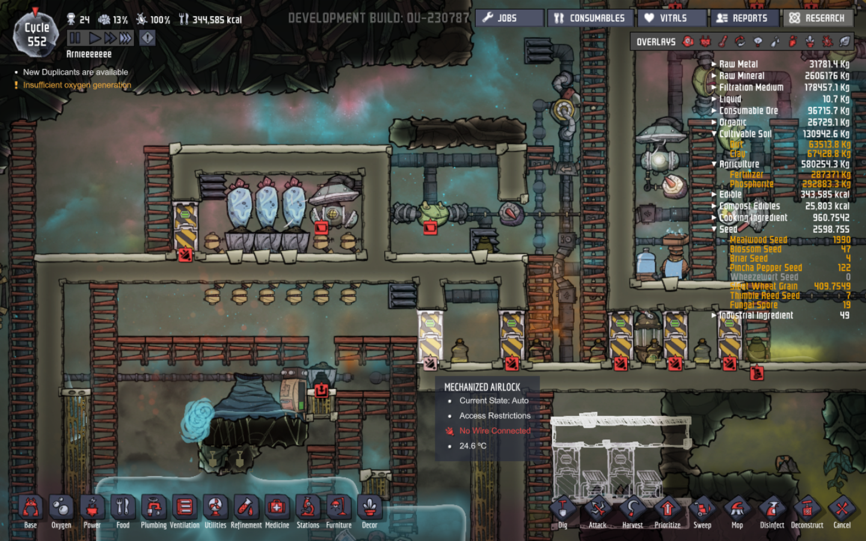 Easy way of cooling geysers - [Oxygen Not Included