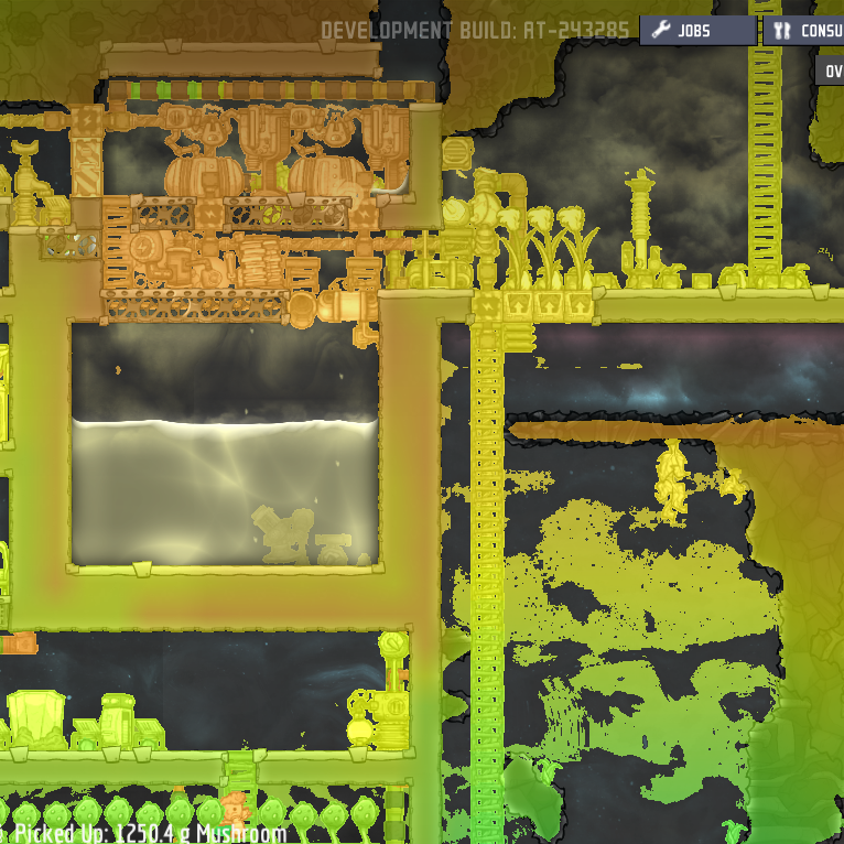 Linux -- Thermal Overlay Colors - Oxygen Not Included - [Early