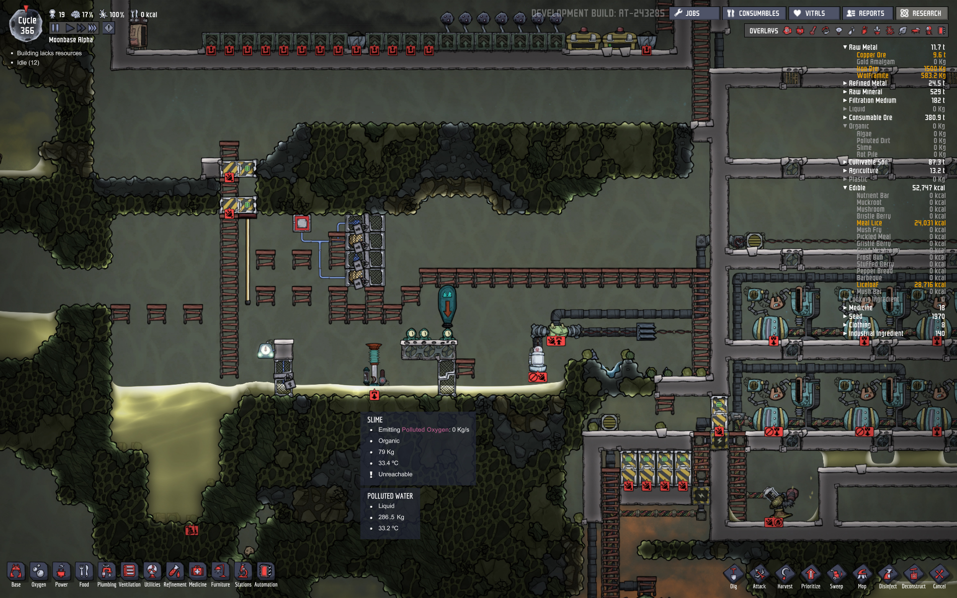 Slime Farming Oxygen Not Included General Discussion Klei