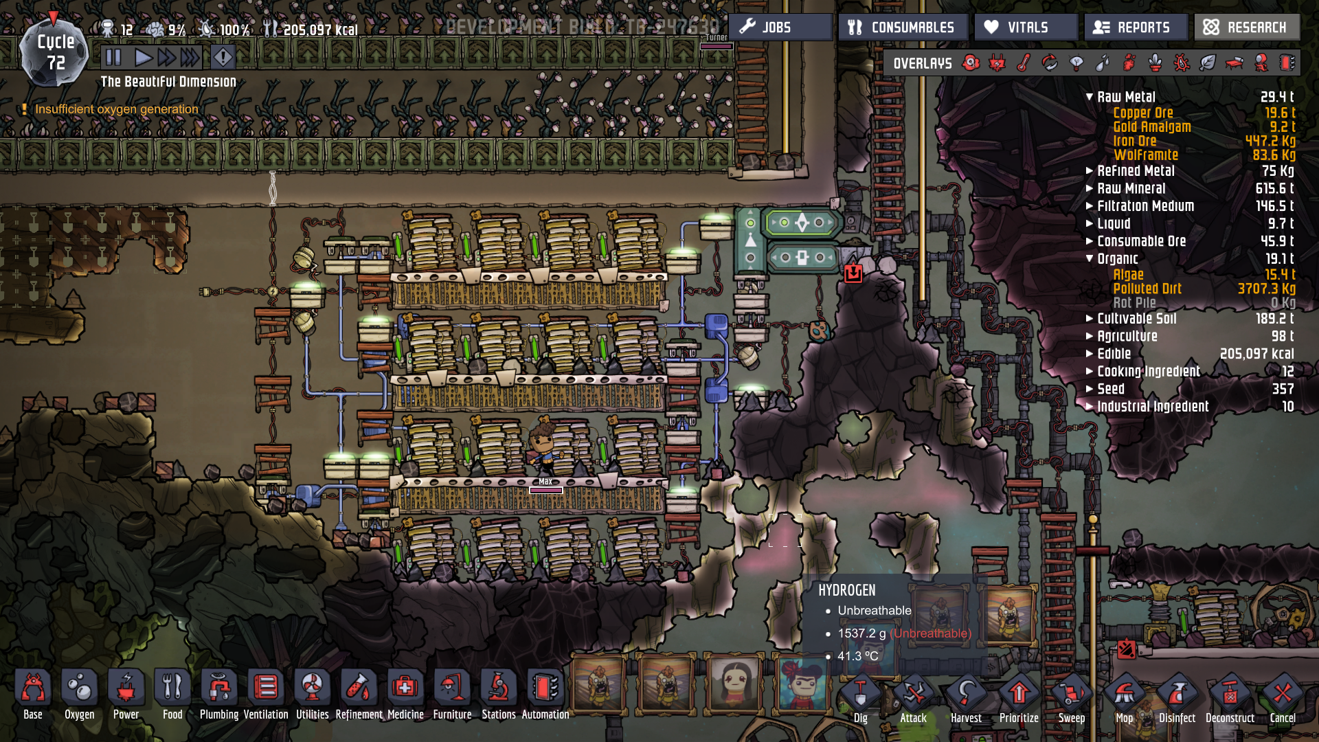 oxygen not included how to get rid of chlorine gas