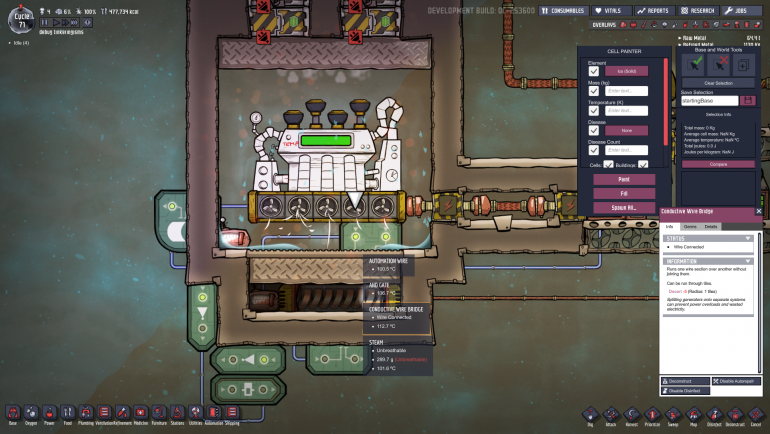 How to use steam turbine oxygen not included