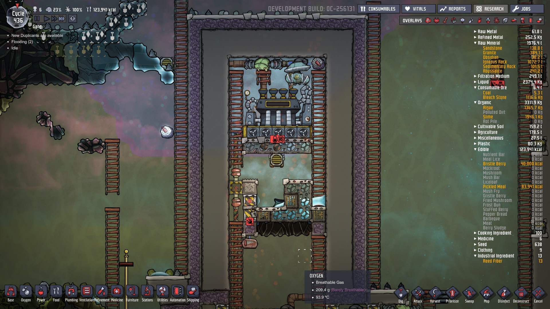Why cant I get this steam turbine to fire up? - [Oxygen Not Included