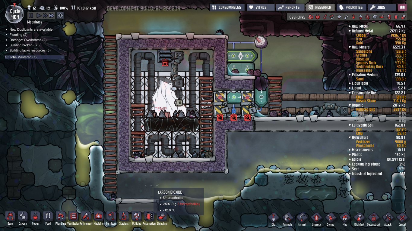 Oxygen Not Included Turbine Too Hot