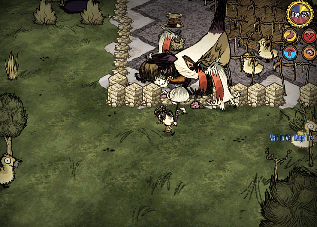 dont starve together how to get grass reeds