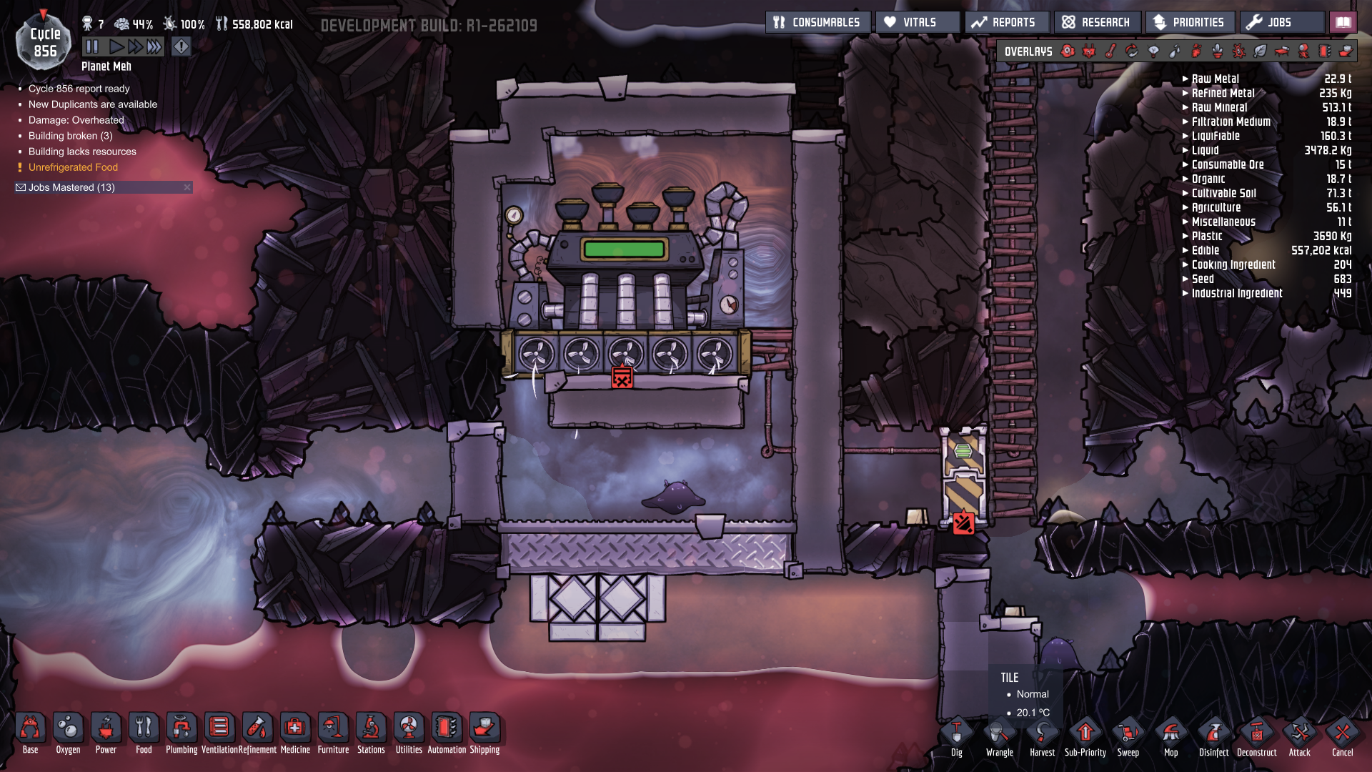 Steam Turbine without Debug - [Oxygen Not Included