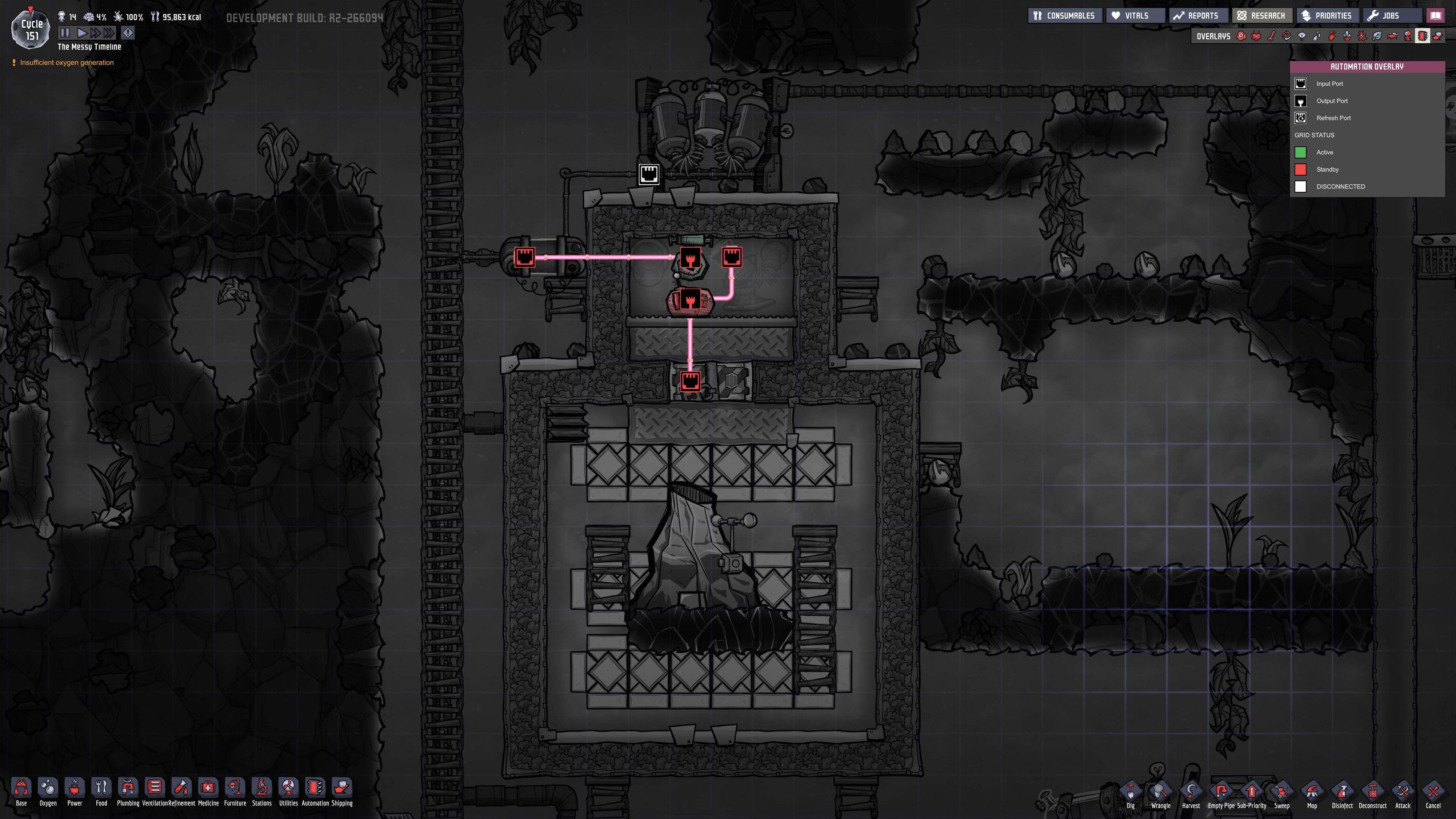 Simple Metal Volcano Cooling - [Oxygen Not Included