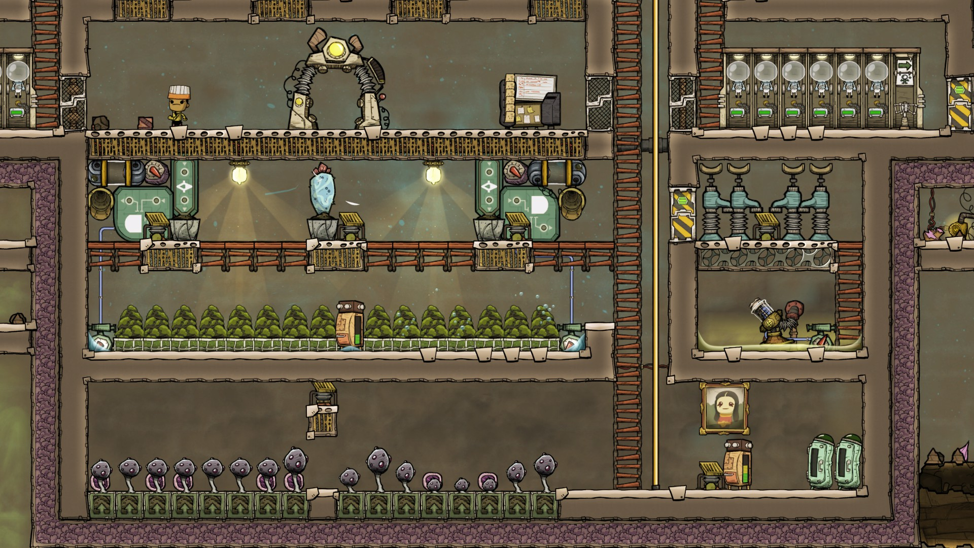 Automated Algae Terrariums - [Oxygen Not Included] - General