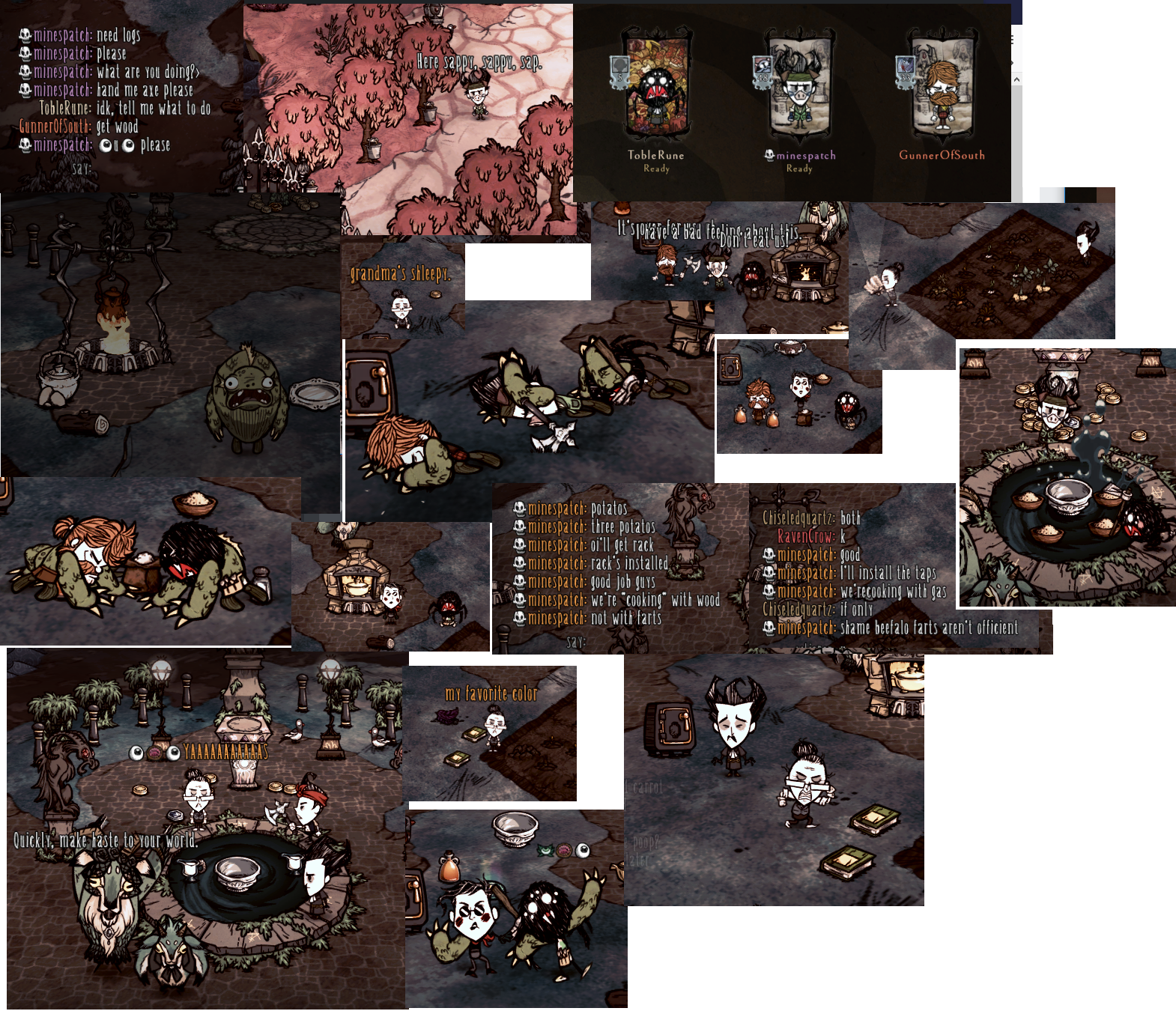 Gorge Moments - General Discussion - Klei Entertainment Forums