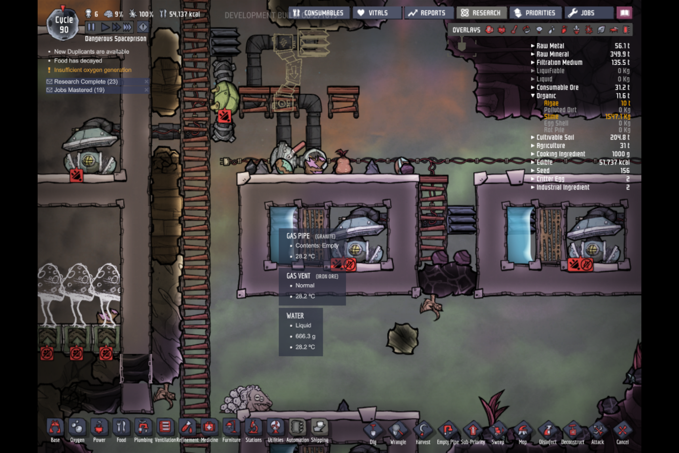 Infinite Gas Storage - [Oxygen Not Included] - General