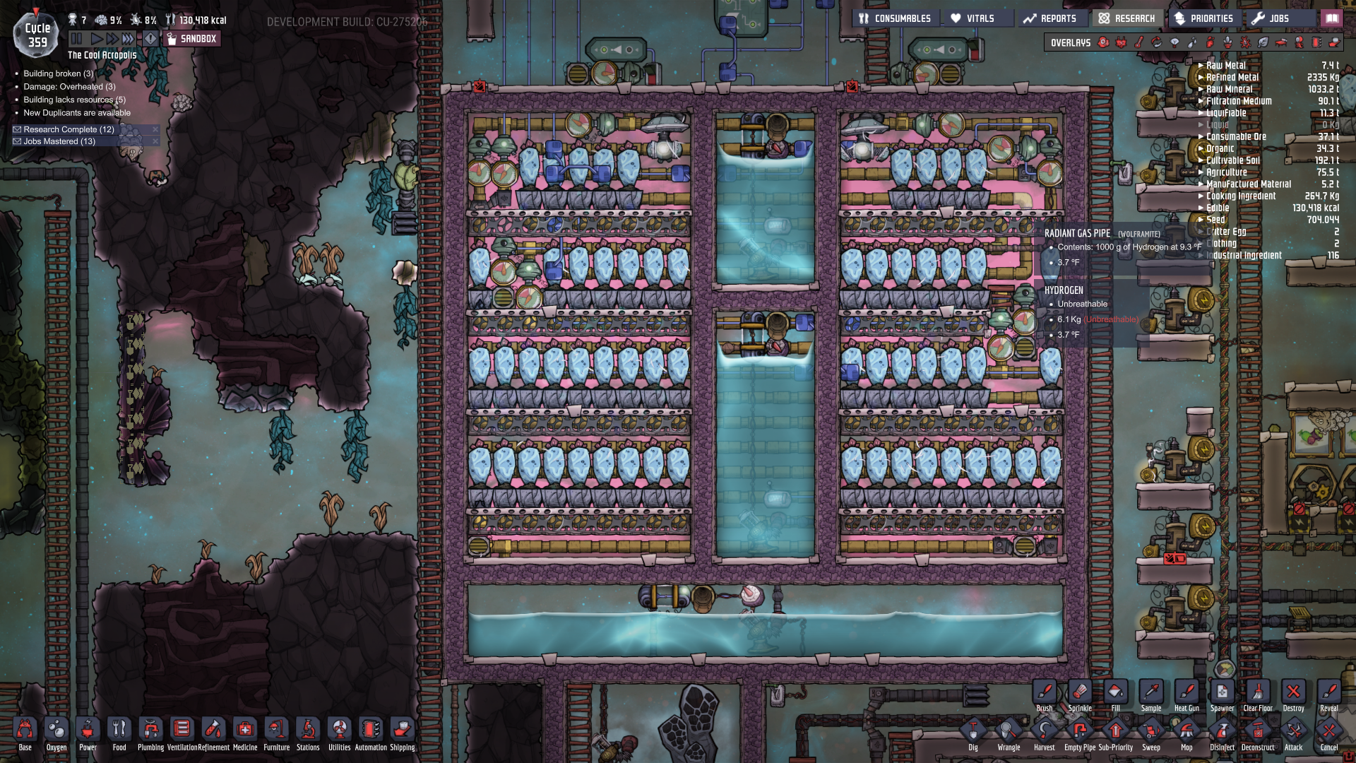 Water cooling idea - [Oxygen Not Included] - General
