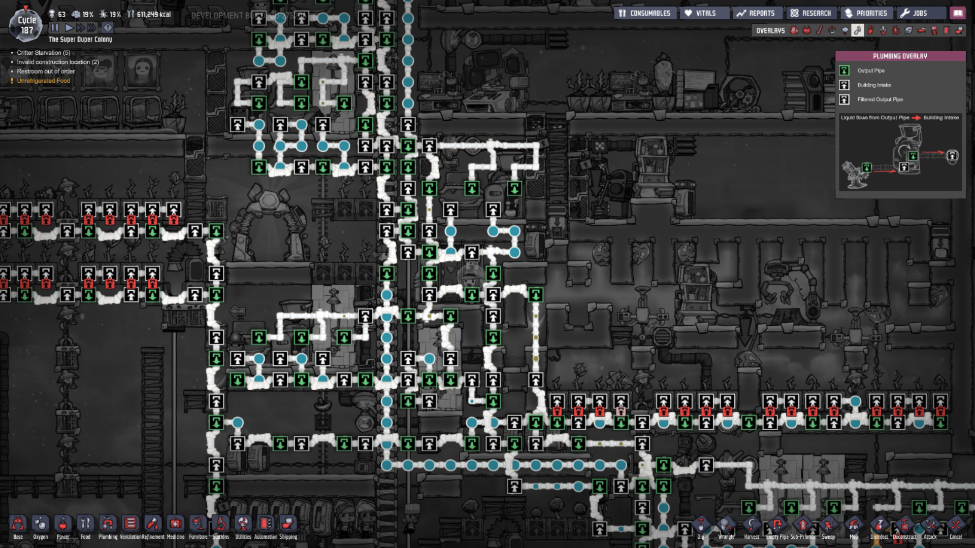 The usefulness of a maintanance belt - [Oxygen Not Included