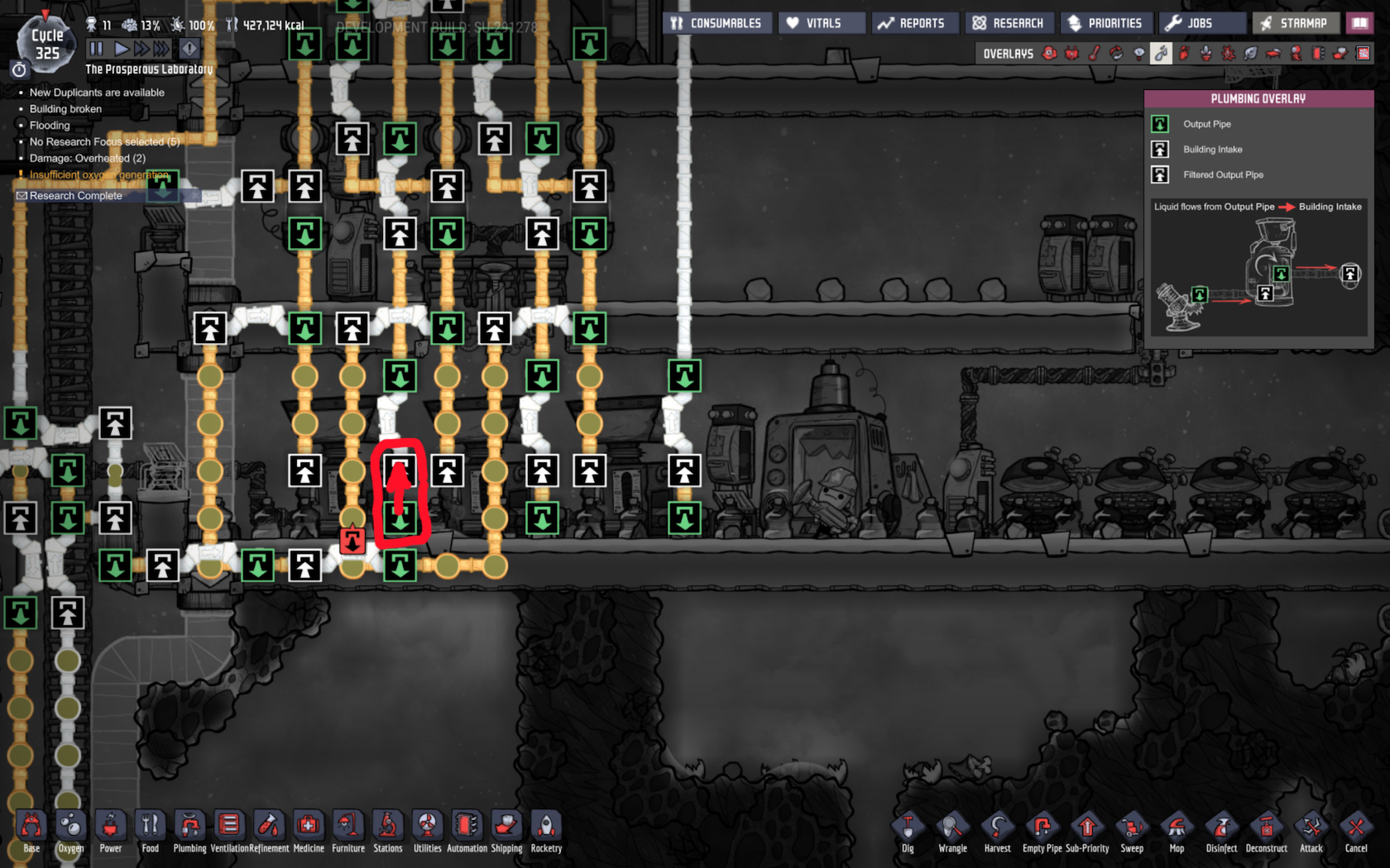 Steel Missing from Inventory + Hot Steam from Refinery