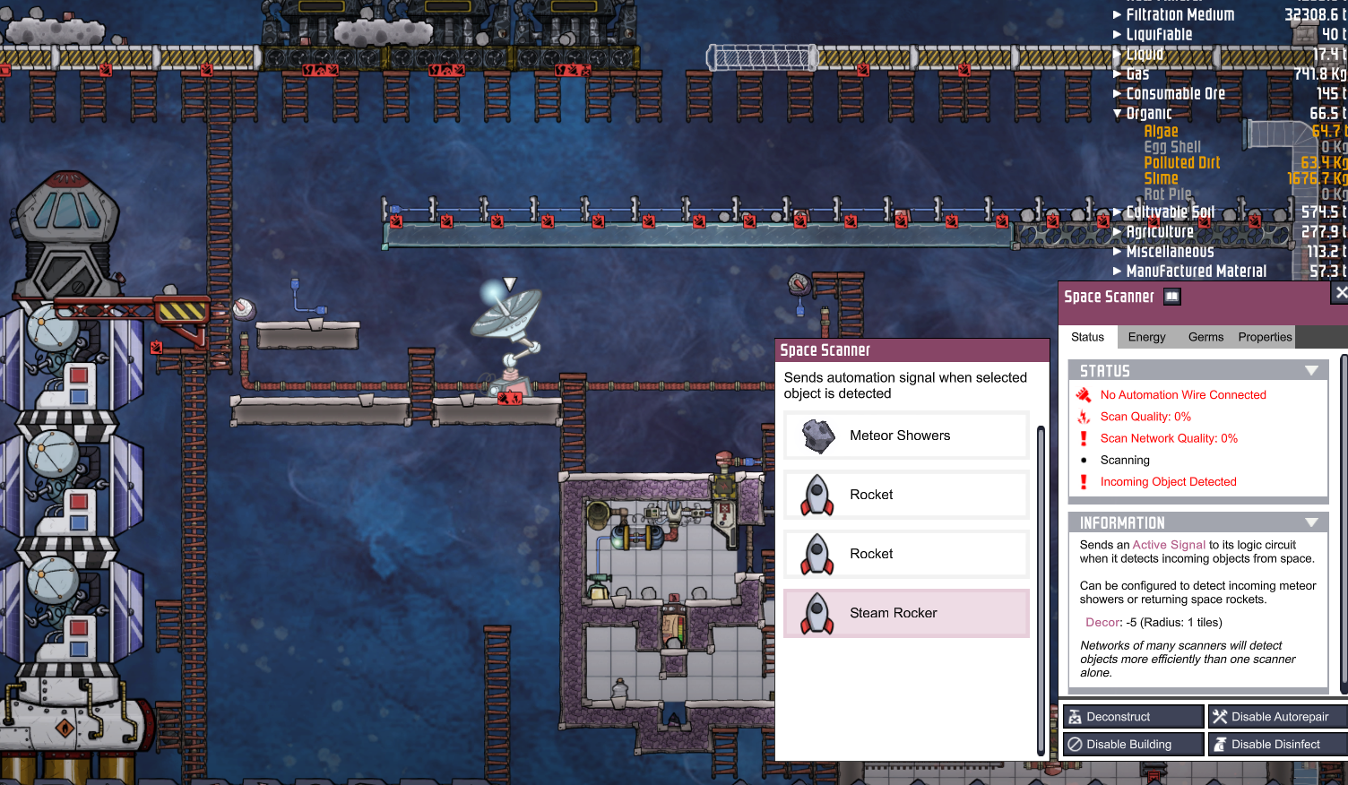 Rockets + Bunker Doors - [Oxygen Not Included] - General Discussion