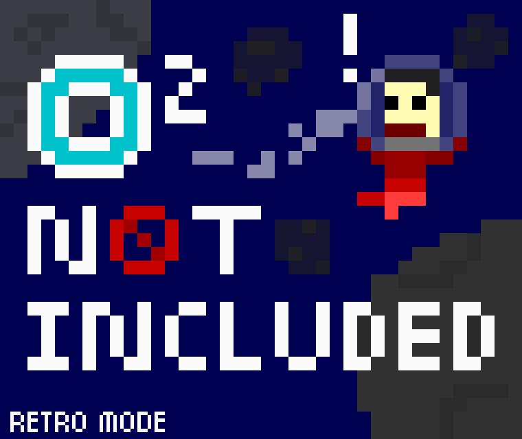 ONI 'n 8-bit retro - [Oxygen Not Included] Art, Music & Lore