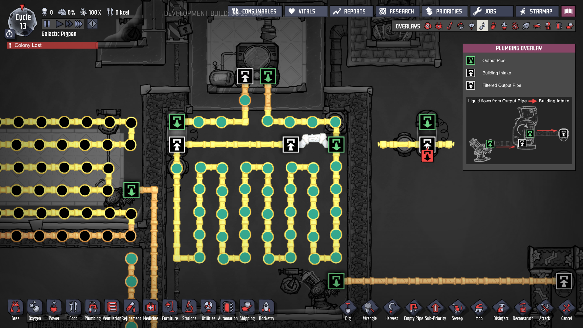 Help with plumbing - [Oxygen Not Included] - General Discussion