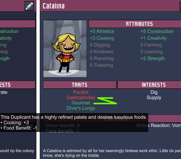 Amazing Traits! - [Oxygen Not Included] - General Discussion