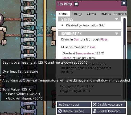 Overheat Temperature Breakdown Mixes Degrees Celsius And Kelvin