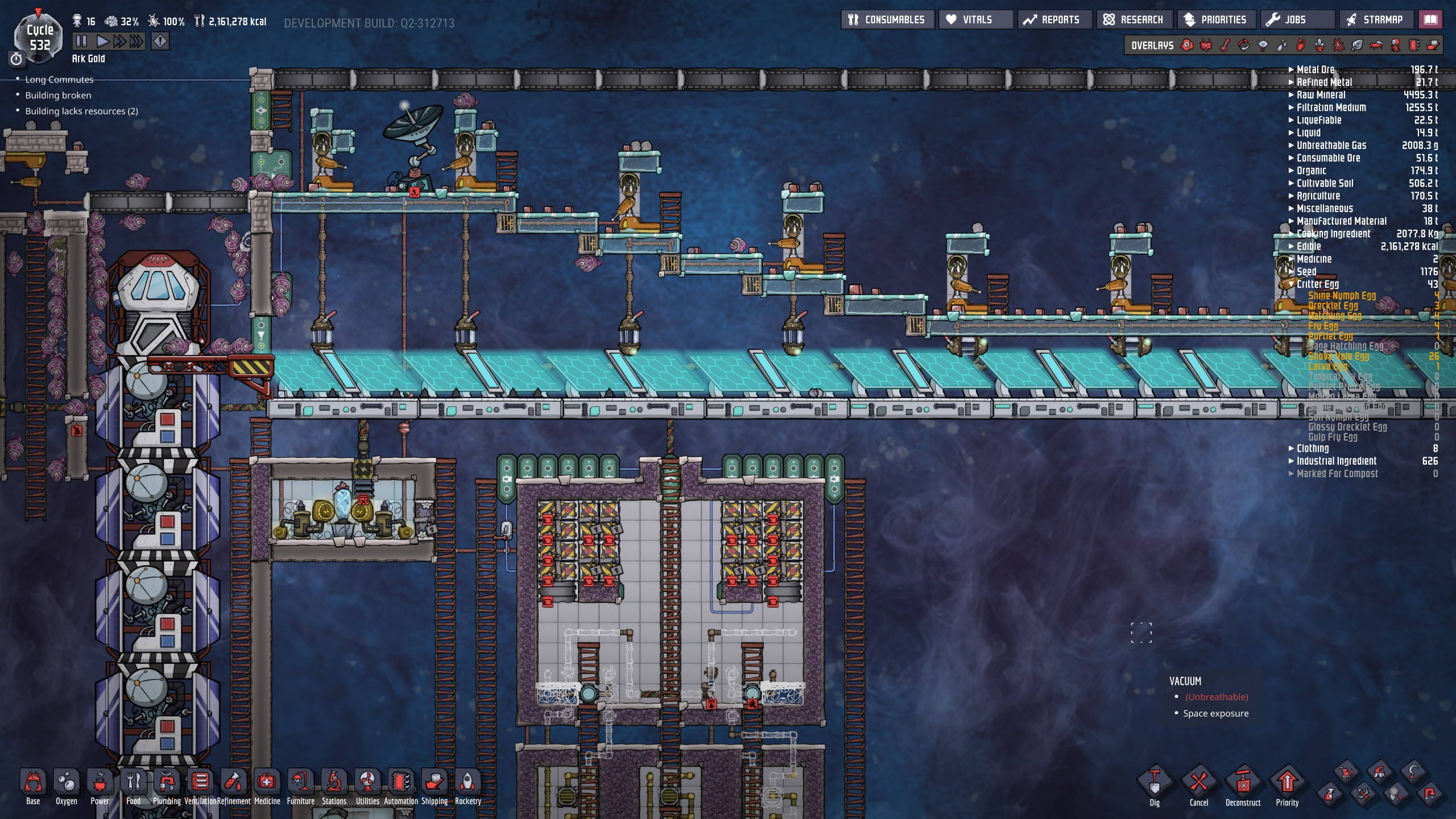 Shove Vole need fixing - [Oxygen Not Included] - Suggestions and