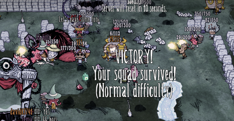 Starving Floor victory.PNG