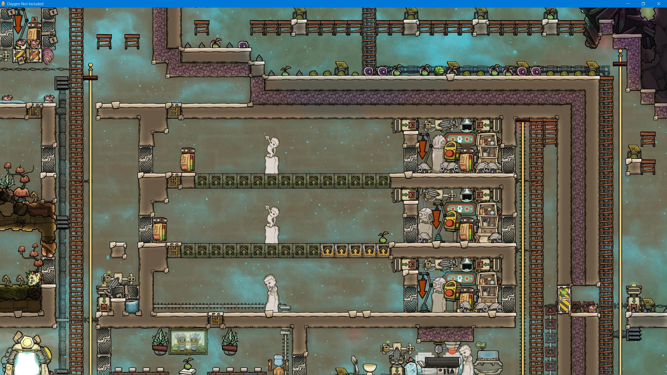 Hatch Farms Just Add A Buffer Oxygen Not Included General Discussion Klei Entertainment Forums